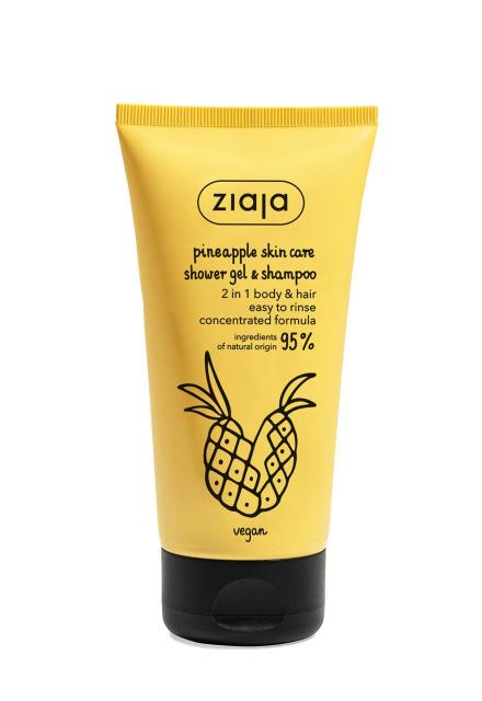 shower gel & shampoo 2 in 1 body & hair