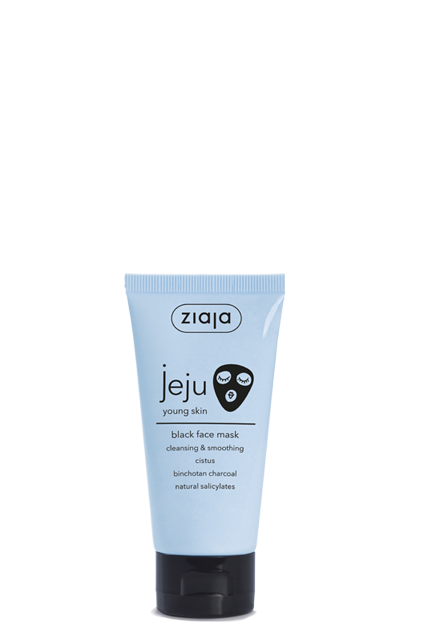 cleansing & smoothing black face mask
