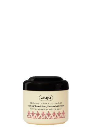 cashmere proteins & amaranth oil concentrated strengthening hair mask
