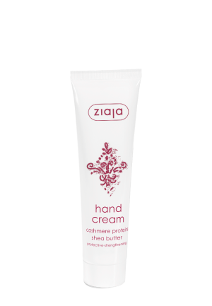 hand cream with cashmere proteins & shea butter